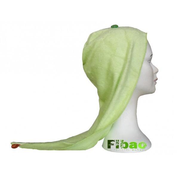 turban seche cheveux Fibao anis