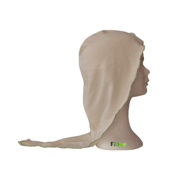 turban seche cheveux Fibao - ecru