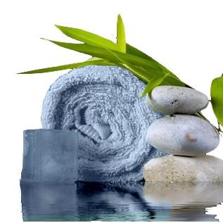 serviette de toilette bambou