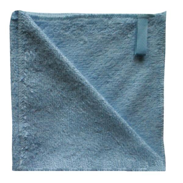 serviette visage bambou bleu layette
