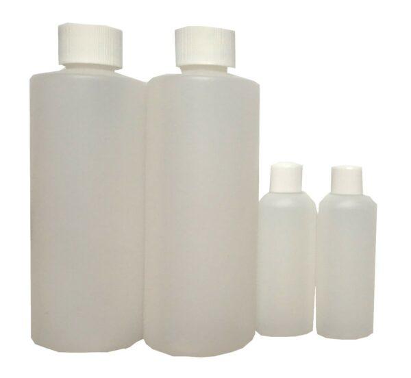 flacons vides 30 ml et 200 ml pour faire ses cosmétiques soi-même
